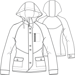 Select your   sewing patterns Parka 7161 LADIES Jackets