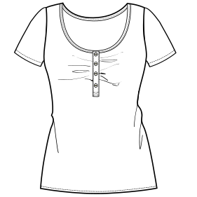 Browse our shop for sewing patterns T-Shirt 778 LADIES T-Shirts