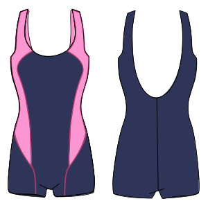 Browse through a offer of dress patterns Swiming suit 7097 LADIES Swimsuit