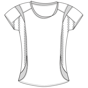 All our patterns have been tested and they are prepared for garments production T-Shirt 2994 LADIES T-Shirts