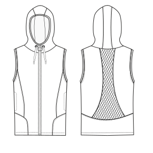 Consult our shop for sewing patterns Waistcoat 2995 LADIES Waistcoats