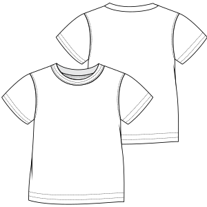 Browse our  sewing patterns T-Shirt  6918 GIRLS T-Shirts
