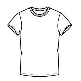 Browse our catalogue for sewing patterns T-Shirt  7349 MEN T-Shirts