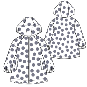 Choose your   sewing patterns Raincoat 788 GIRLS Jackets