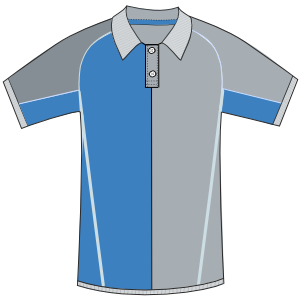 Browse our  sewing patterns Football polo 3008 MEN T-Shirts
