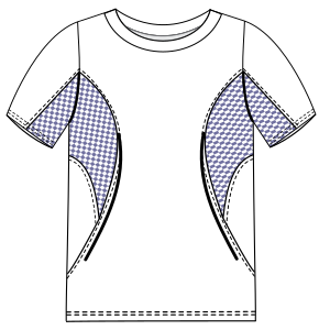 Browse our shop for sewing patterns T-Shirt 2892 MEN T-Shirts