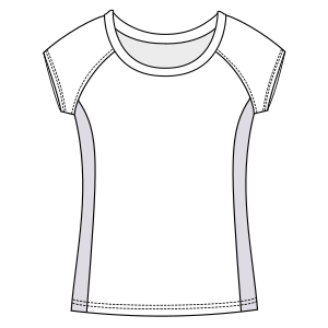 Browse our  sewing patterns T-Shirt 692 LADIES T-Shirts