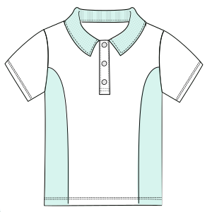 Browse through a  and nice assortment of costume patterns School T-shirt 6026 UNIFORMS T-Shirts