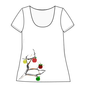 All our patterns have been tested and they are made for garments production T-Shirt 621 LADIES Large Sizes