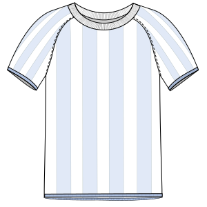 Dressmaking patterns for everybody Football T-Shirt 6015 MEN T-Shirts