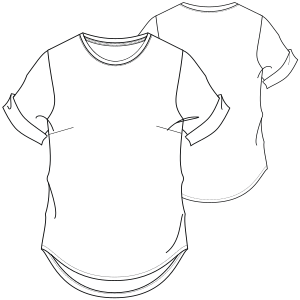 Choose your   sewing patterns T-Shirt 7243 MEN T-Shirts