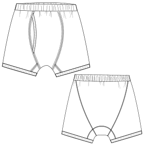 Browse through a offer of costume patterns Boxer 3017 MEN Underwear
