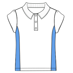 Easy dress patterns for  stitch School T-shirt  6045 UNIFORMS T-Shirts