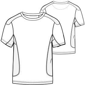 All our patterns have been tested and they are made for garments production T-Shirt 760 MEN T-Shirts