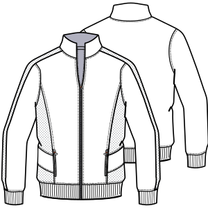 Choose your   sewing patterns Jacket 604 MEN Jackets