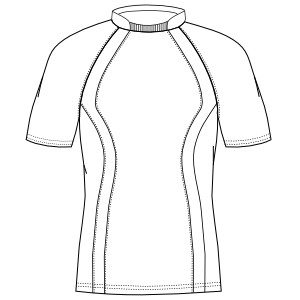 Browse our  sewing patterns Cyclist T-Shirt 2938 MEN T-Shirts
