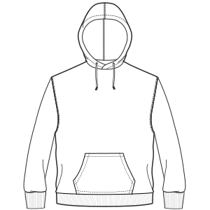 Consult our shop for sewing patterns Hoodie sweatshirt 6995 MEN Sweatshirt