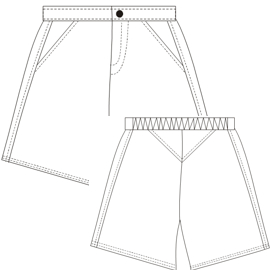 Browse our catalogue for sewing patterns Bermudas Tennis 647 LADIES Shorts