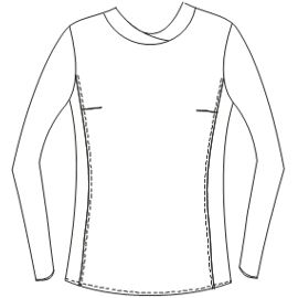 All our patterns have been tested and they are prepared for garments production SportT-Shirt 4690 LADIES T-Shirts