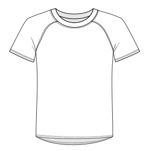 Select from a offer of dress patterns T-shirt 6875 MEN T-Shirts