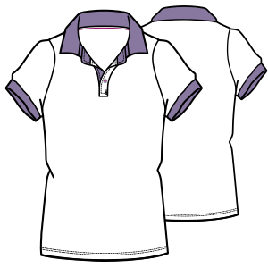Select from a huge variety of costume patterns Polo T-Shirt 7151 LADIES T-Shirts