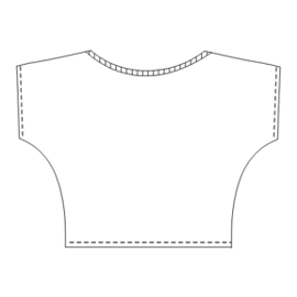 Browse our  sewing patterns T-Shirt 4698 LADIES T-Shirts