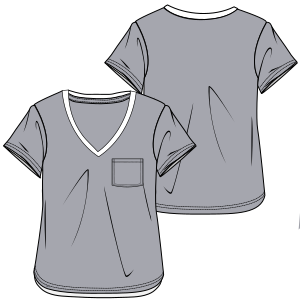 Browse our  sewing patterns T-Shirt 2874 LADIES T-Shirts