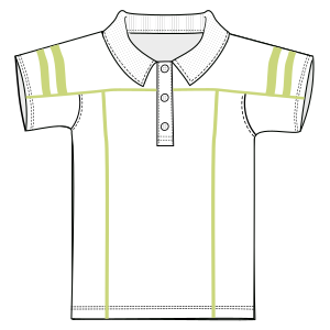 Easy dress patterns for domestic and professional users Sports Polo 6717 BOYS T-Shirts