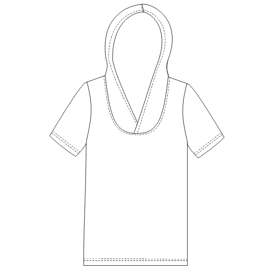 Easy dress patterns for  sew T-Shirt 792 MEN T-Shirts