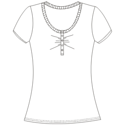 Choose your   sewing patterns T-Shirt 778 LADIES T-Shirts