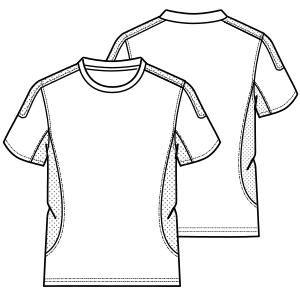 Consult our shop for sewing patterns Tennis T-Shirt 641 MEN T-Shirts