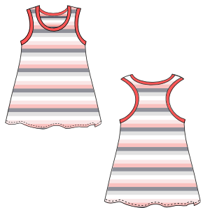 Choose your   sewing patterns Dress tank 658 GIRLS Dresses