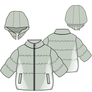 Browse our  sewing patterns Jacket 612 GIRLS Jackets