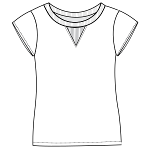 All our patterns have been tested and they are made for garments production T-Shirt 3072 LADIES Large Sizes