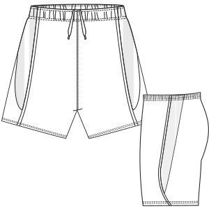 Choose your   sewing patterns Short 690 LADIES Shorts