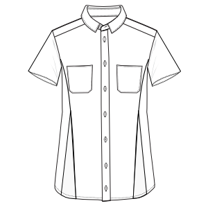 Consult our catalogue for sewing patterns Shirt SS 3030 MEN Shirts