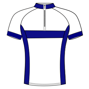 All our patterns have been tested and they are ready for garments production Cyclist Maillot 6023 MEN T-Shirts