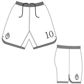 All our patterns have been tested and they are prepared for garments production Football Short 2849 MEN Shorts