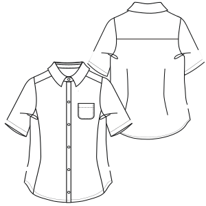 Select from a wide variety of costume patterns Shirt 6828 UNIFORMS Shirts