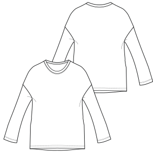 Choose your   sewing patterns T-Shirt 7171 LADIES T-Shirts