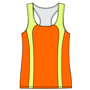 Consult our shop for sewing patterns Runing top tank 6825 LADIES T-Shirts