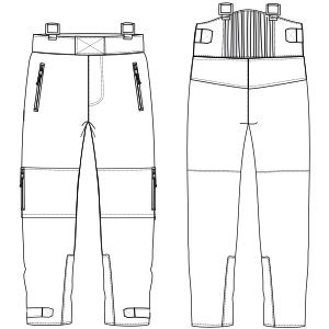 Browse our catalogue for sewing patterns Mountain trouser 6011 MEN Trousers