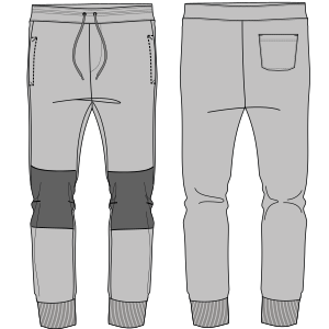 All our patterns have been tested and they are ready for garments production Pants 7142 MEN Trousers
