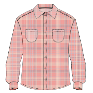 All our patterns have been tested and they are prepared for garments production Shirt 3032 MEN Shirts