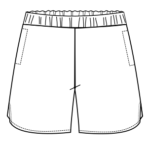 All our patterns have been tested and they are made for garments production Tennis Short 6035 BOYS Shorts