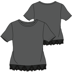 Choose your   sewing patterns T-Shirt 7278 LADIES T-Shirts