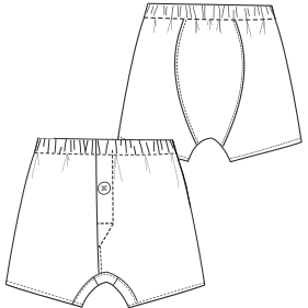 Consult our catalogue for sewing patterns Underware 796 MEN Underwear