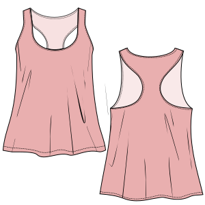 Browse our catalogue for sewing patterns Tank top 3081 LADIES T-Shirts