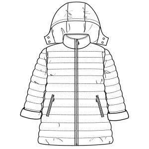 Browse our catalogue for sewing patterns Coat 6738 GIRLS Jackets