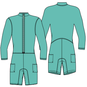 Browse through a  and nice assortment of dress patterns Triathlon suit 7081 MEN One-Piece